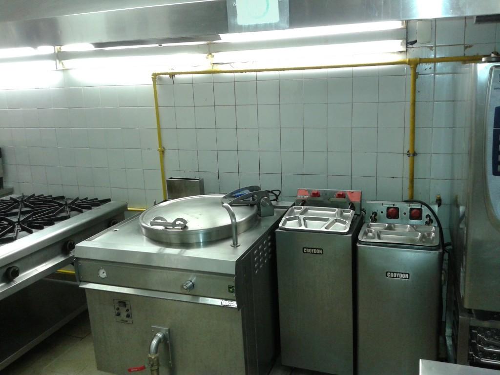 Instalação de gás cozinha industrial 3